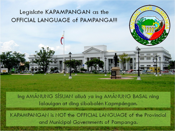 Kapampangan as Official Language (small)