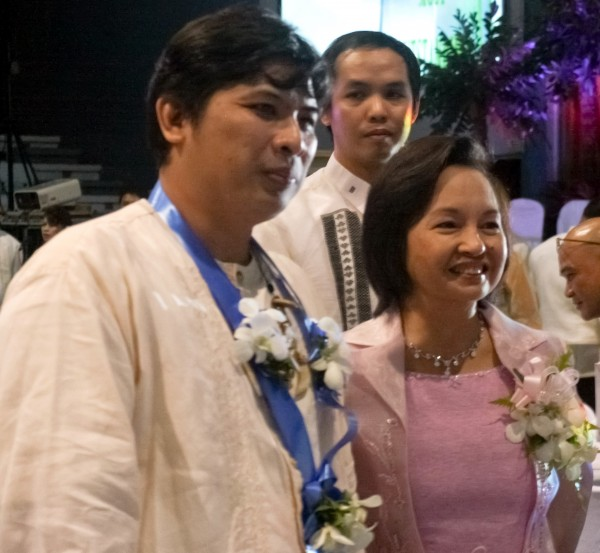Moments with former Philippine President Gloria Macapagal Arroyo. Most Outstanding Kapampangan Awards 2010, City of San Fernando, Indung Kapampangan, 2010 December 11.