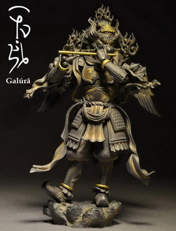 Karura (迦楼羅天) sculpture by Takeya Takayuki (竹谷隆之).